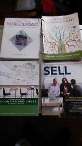BUSINESS TEXTBOOKS: Accounting, Mgmt, MacroEcon, and more