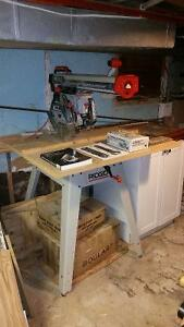 Ridgid RS-1000 Radial Arm Saw 10""