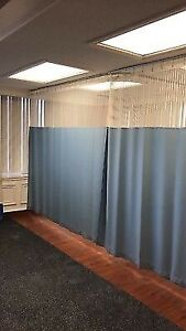 Curtains for cubicles