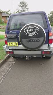 1997 Toyota LandCruiser Wagon