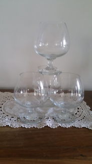 Kronso Decanter with 4 Crystal Balloons