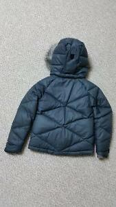 Girls Columbia Mini Lay D Down Winter Coat-Black Stratford Kitchener Area image 2