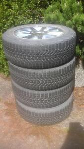 4 Winter force tires and rims 225 60R 18