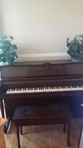 **Free piano to loving home