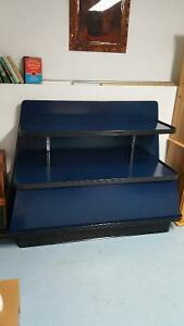 2 Display Shelving Units