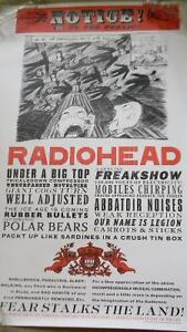 LOT of 8 Rock posters -