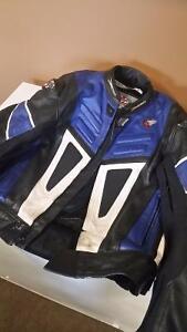 Joe Rocket Leather Race Jacket Size 44