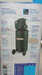 air compressor 26 gallon used only 1 hour still brand new in box