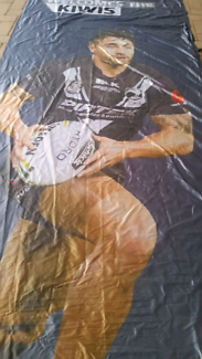 Kiwi rugby league test banner