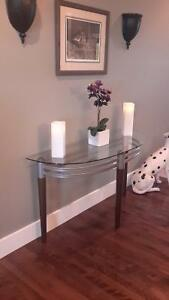 Modern hall/sofa table Reduced!