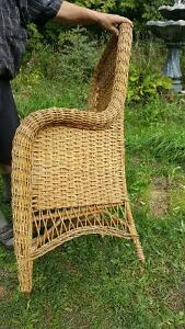 Victorian Rattan Chair by Gendron MFG Kingston Kingston Area image 4