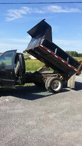 2004 FORD F450 SUPER DUTY, TIPPER (SAFETIED & E-TESTED)