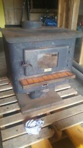 Glass Front Wood Stove
