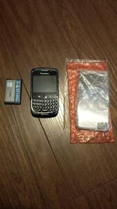 Broken Blackberry Curve 9300 And New Z10 Clear Case