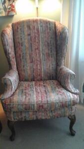 Gorgeous wing chair