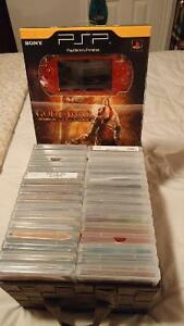 Psp games/movies included in prior add