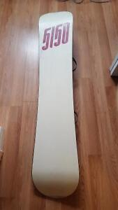 5150 Snowboard with Preston Bindings 50$obo
