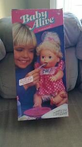 Baby Alive (Brand New in Box, bought in 1992)