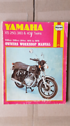 Yamaha Haynes XS 250, 360 & 400 Twins owners workshop manual Scarborough Stirling Area Preview