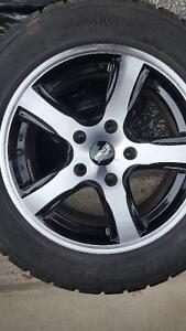 Like New Rims and Tires Great Deal 5 bolt pattern Sarnia Sarnia Area image 3