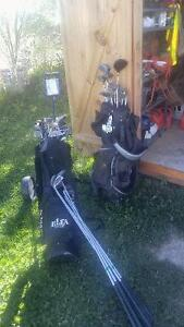 Golf clubs and 100 balls Kawartha Lakes Peterborough Area image 1