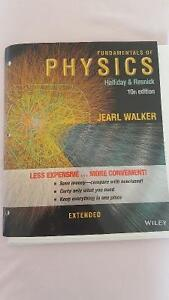 Fundamentals of Physics Extended (10th Ed) Halliday & Resnick