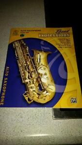 alfred band expressions alto saxophone