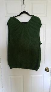 Perfect Holiday Gift--Hand knit vest Kitchener / Waterloo Kitchener Area image 3