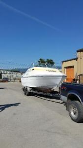 24ft boat and Trailer