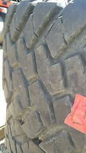 3 USED NITTO M/T TRAIL GRAPPLER TIRES LT285/75R18