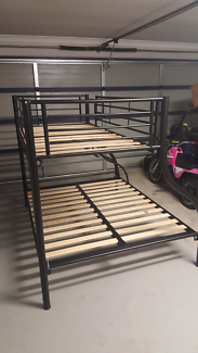 Bunk beds double bottom single top