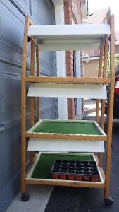 3 Tier indoor grow plant stand