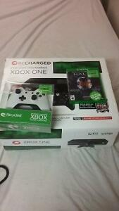 Xbox one comes with 2 controllers and halo master chief