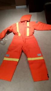 Traffic Safety Insulated Coveralls