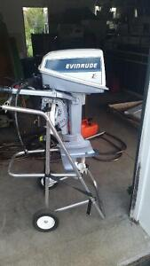4.5HP Evinrude Outboard Motor for Sale