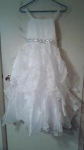 GIRLS WEDDING/FIRST COMMUNION DRESS