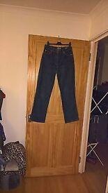 Ladies Falmers Wide Leg Jeans Size 12