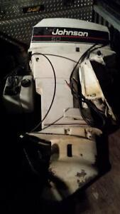 Evinrude 50 HP Outboard Motor with Power Tilt