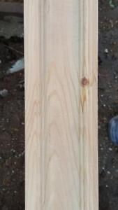 plinte et moulure en bois non jointer a 50  % du prix