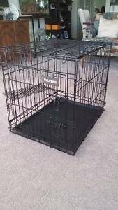 Dog Cage with divider
