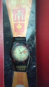 1998 nagano olympics Mcdonalds collector watch in box Belleville Belleville Area image 2