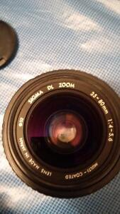 sigma dl zoom 35-80mm 1.4-5.6 (Canon)