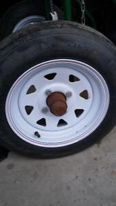 Two trailer tires.....new