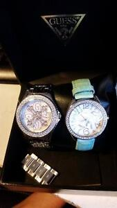 2 Guess watches