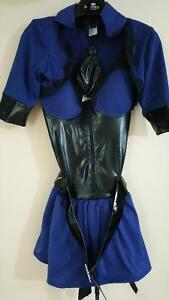Sultry officer body shaper costume - size small