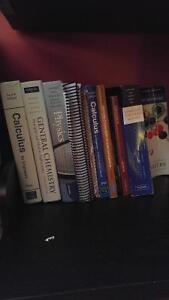 Uw textbooks for first year engineering and science students!!!
