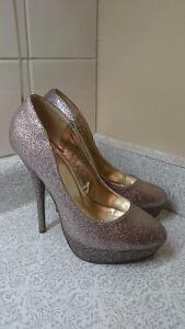 Glittery pumps size 8.5 to 9