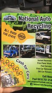 National Auto Recycling, cash for cars Bendigo Bendigo City Preview