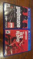 Wolfenstein New Order et Old Blood ps4