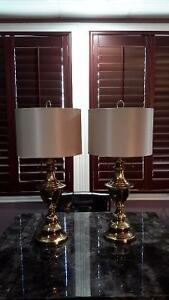 Beautiful brass lamps for sale